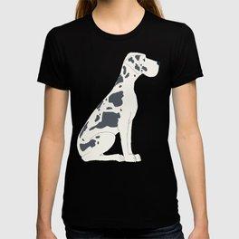 Great Dane Dog Illustration T-shirt