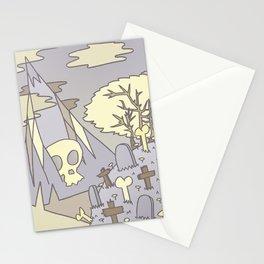 Skull Mountain Stationery Cards