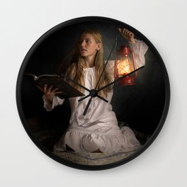 Reading After Bedtime Wall Clock