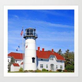 Chatham Lighthouse On Cape Cod Art Print