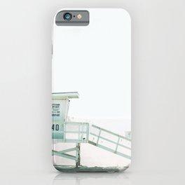 Lifeguard Tower California Beach Life iPhone Case