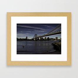 The Brooklyn Side Framed Art Print