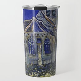 The Church in Auvers-sur-Oise, View from the Chevet Travel Mug