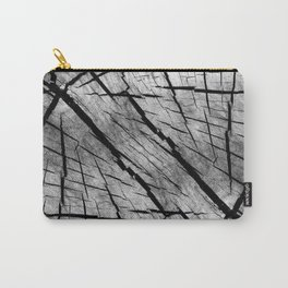 Old deep woodgrain Carry-All Pouch