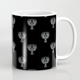 Nightowl Pattern Black Coffee Mug