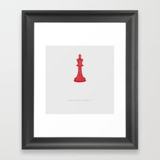 We Are Not So Very Different -Tinker Tailor Soldier Spy Framed Art Print
