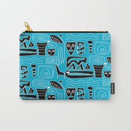 Tribal Blues Carry-All Pouch