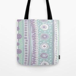 Doodle Spots & Stripes Tote Bag