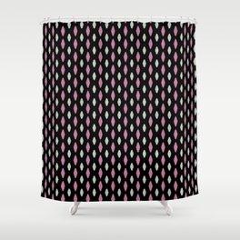 Curved diamonds Shower Curtain