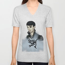 Dishonored -fan art- The Outsider Unisex V-Neck
