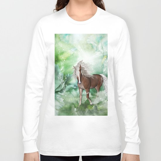 Beautiful horse Long Sleeve T-shirt