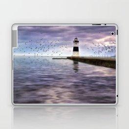 The Light on the Pier Laptop & iPad Skin