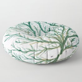 A Wonder Of The Sea Floor Pillow