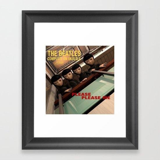 Please Please Me Framed Art Print