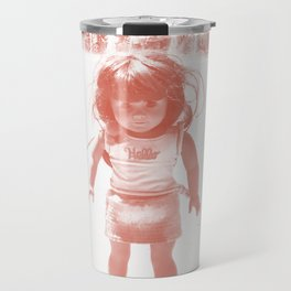 Hello (red) Travel Mug