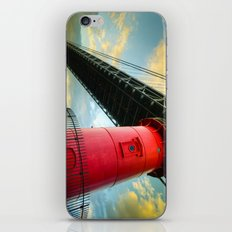 Little Red Lighthouse iPhone & iPod Skin