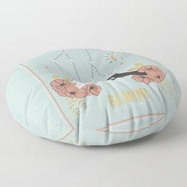 Gemini Zodiac Series Floor Pillow