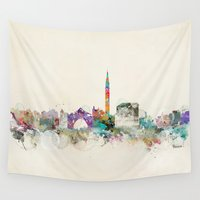 italy Wall Tapestries featuring venice italy  by bri.buckley