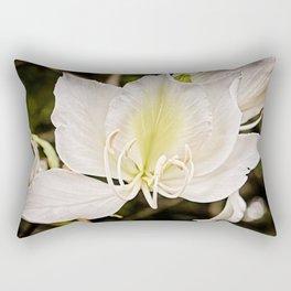 Butterfly tree or Bauhinia variegata Rectangular Pillow