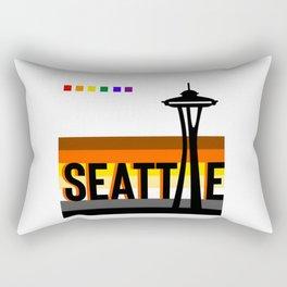 Seattle Bear Pride LGBT flag  Rectangular Pillow