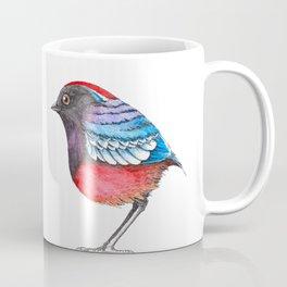 Bird: Garnet Pitta Coffee Mug