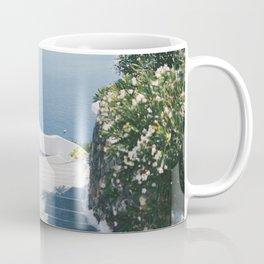 Santorini Stairs II (Landscape) Coffee Mug