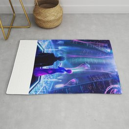 Ready Player One inspired | Painting Poster | CLUB SCENE | PRINTS | #M47 Rug