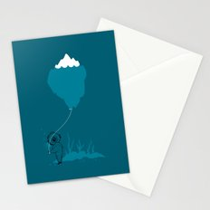 The Diver and his Balloon Stationery Cards