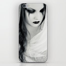 Lonely Pierrot iPhone Skin