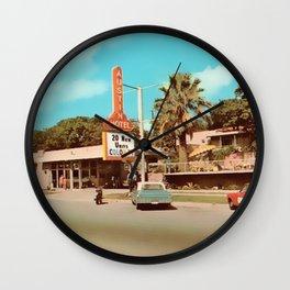 Vintage Austin Motel Wall Clock