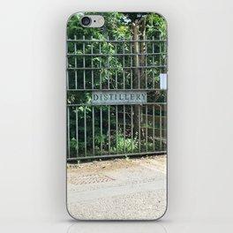 Distillery Gates - Open Please iPhone Skin