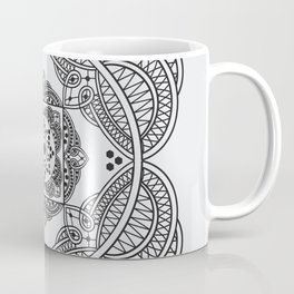 elegant meditation mandala Coffee Mug
