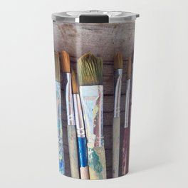 love me some paintbrushes Travel Mug