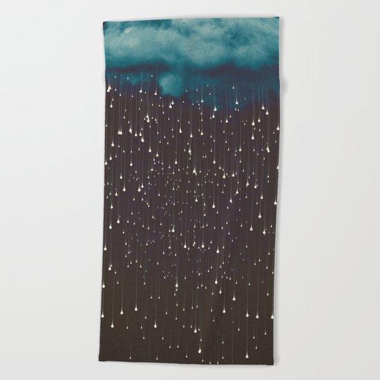 Let It Fall Beach Towel