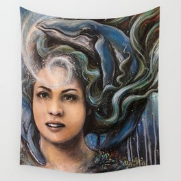 Mermaid Reverie Wall Tapestry