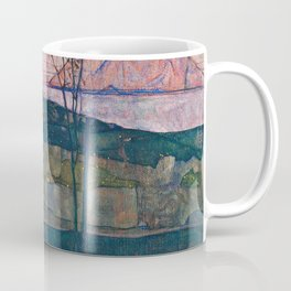 Egon Schiele - Setting Sun Coffee Mug