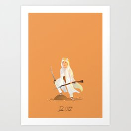 Peter O'Toole - Lawrence of Arabia Art Print