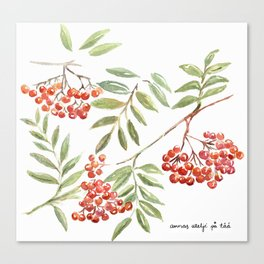 Miss Rowanberry Canvas Print