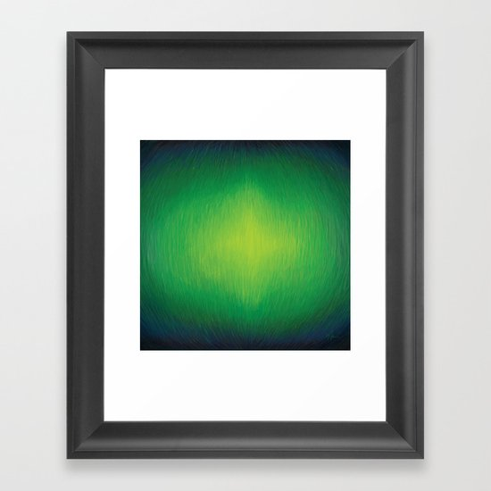 Threaded - Abstract Painting Framed Art Print