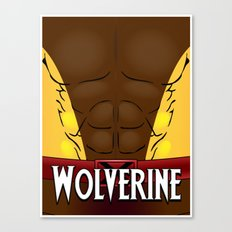 Wolverine Classic Canvas Print