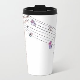 Love and birds Travel Mug