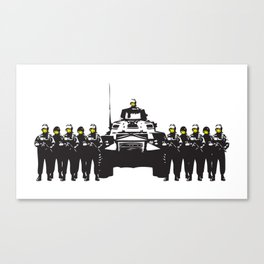 Banksy Have a nice day Canvas Print