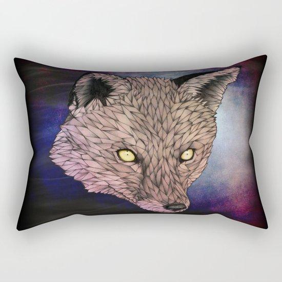 Fox - Golden Eyes Rectangular Pillow
