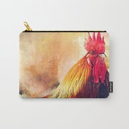Rooster art #rooster #animals Carry-All Pouch