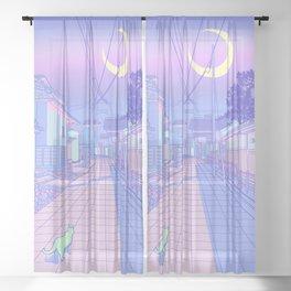 Kyoto Nights Sheer Curtain
