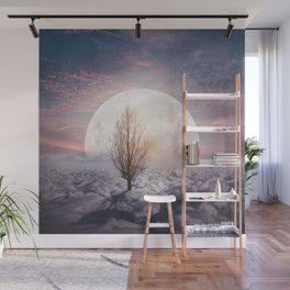 Hypnotized by the Moon Wall Mural
