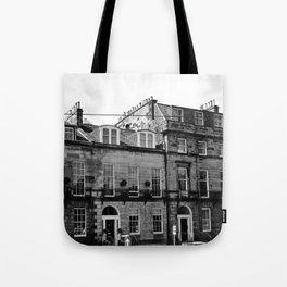 Edinburgh, Scotland Quaint City Homes Tote Bag