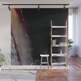 The Extasy Of Gold - Abstract landscape resin art Wall Mural
