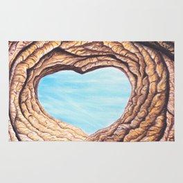 Le coeur de l'amour éternel Rug