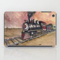 southwest iPad Cases featuring Southwest Journey by Jeff Moser Watercolorist